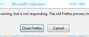 "How to resolve ""Firefox is already running, but is not responding"" error"