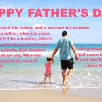 Celebrating Father's Day – June 2017