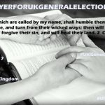 Prayers for United Kingdom 2017 General Election