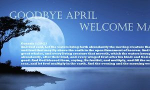 Goodbye April, Welcome May