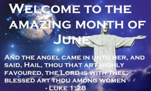 Welcome to the Amazing Month of June