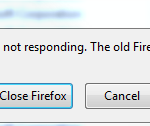 """How to resolve """"Firefox is already running, but is not responding"""" error"""
