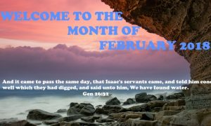 Welcome to February 2018