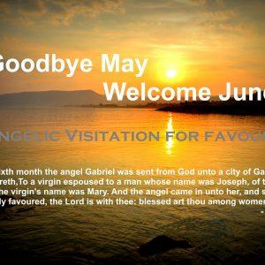Goodbye May Welcome June